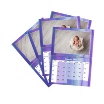 5 x A4 Double Personalised Calendar incl Delivery