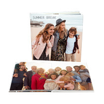 120pg 8x8inch (20x20cm) Pro Hardcover Lay-Flat incl Delivery